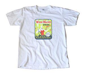 Mermaids! Weeki Wachee Florida Vintage Travel Decal T-Shirt