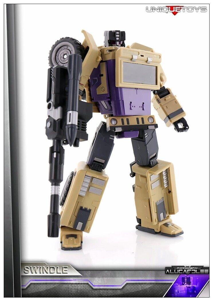 Nuevos Transformers Juguetes Únicos Bruticus ut M-02 gigante 'Ranka G1 Swindle reimpresión
