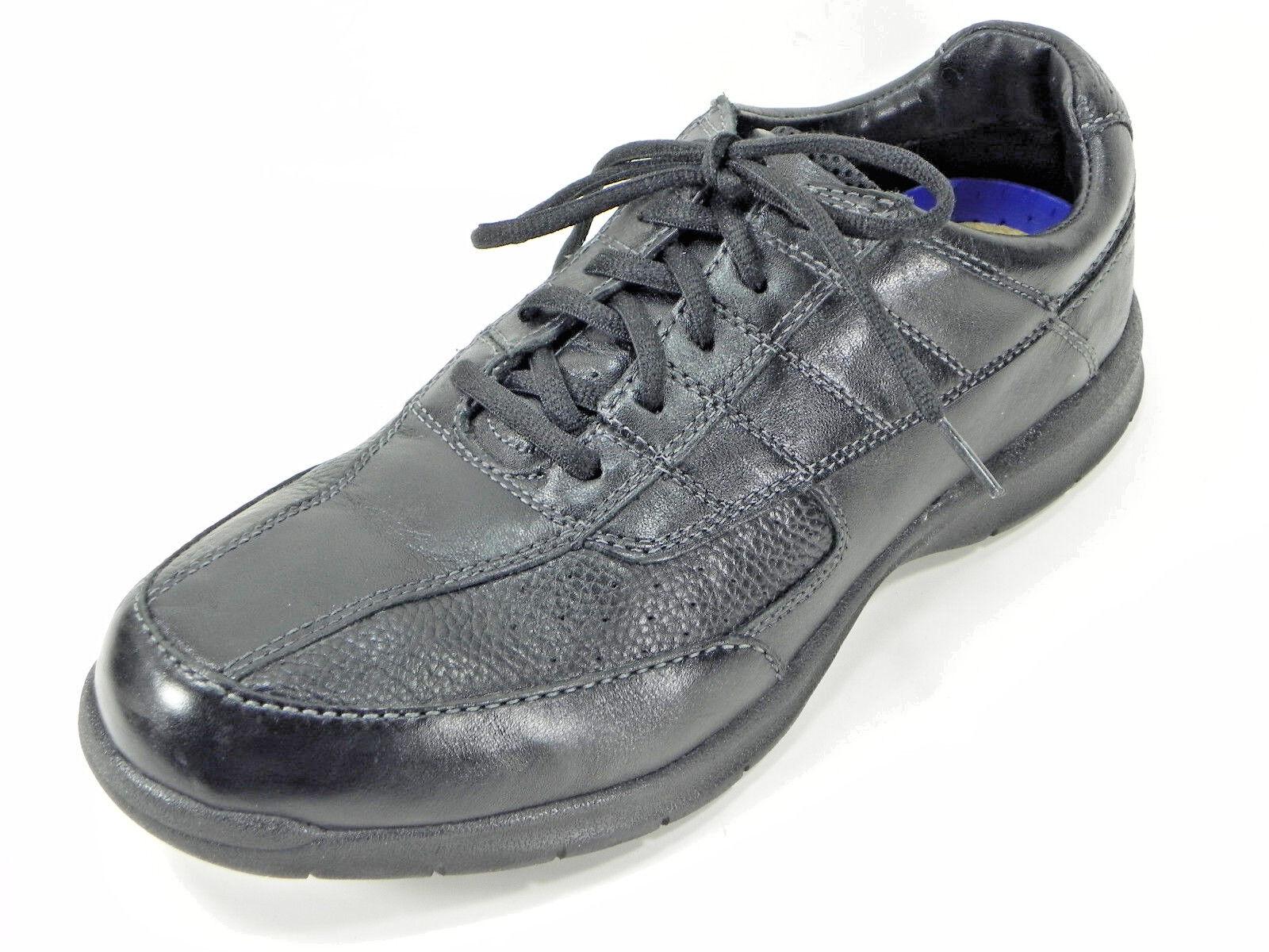 Mens Nunn Bush Oxfords Size 11.5 M Black Leather Lace Up Casual Walking shoes