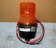 Federal Signal Streamline Lp 3 Amber Strobeflashing Light 12v J928