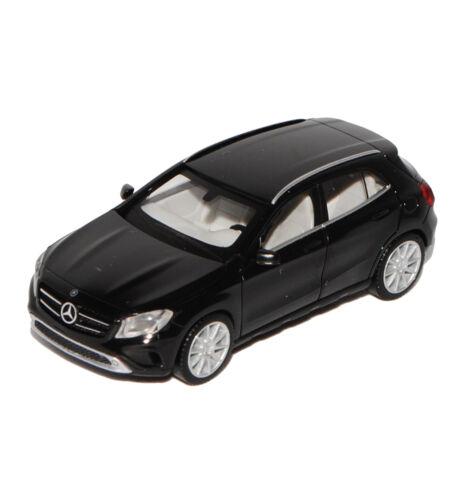 Mercedes-Benz GLA-Klasse SUV Schwarz X156 Ab 2013 H0 1//87 Herpa Modell Auto mi..