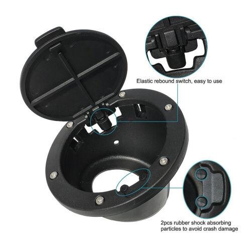 Gas Tank Cap Fuel Tank Cover 2//4 Door For 07-17 Jeep Wrangler JK /& Unlimited GO