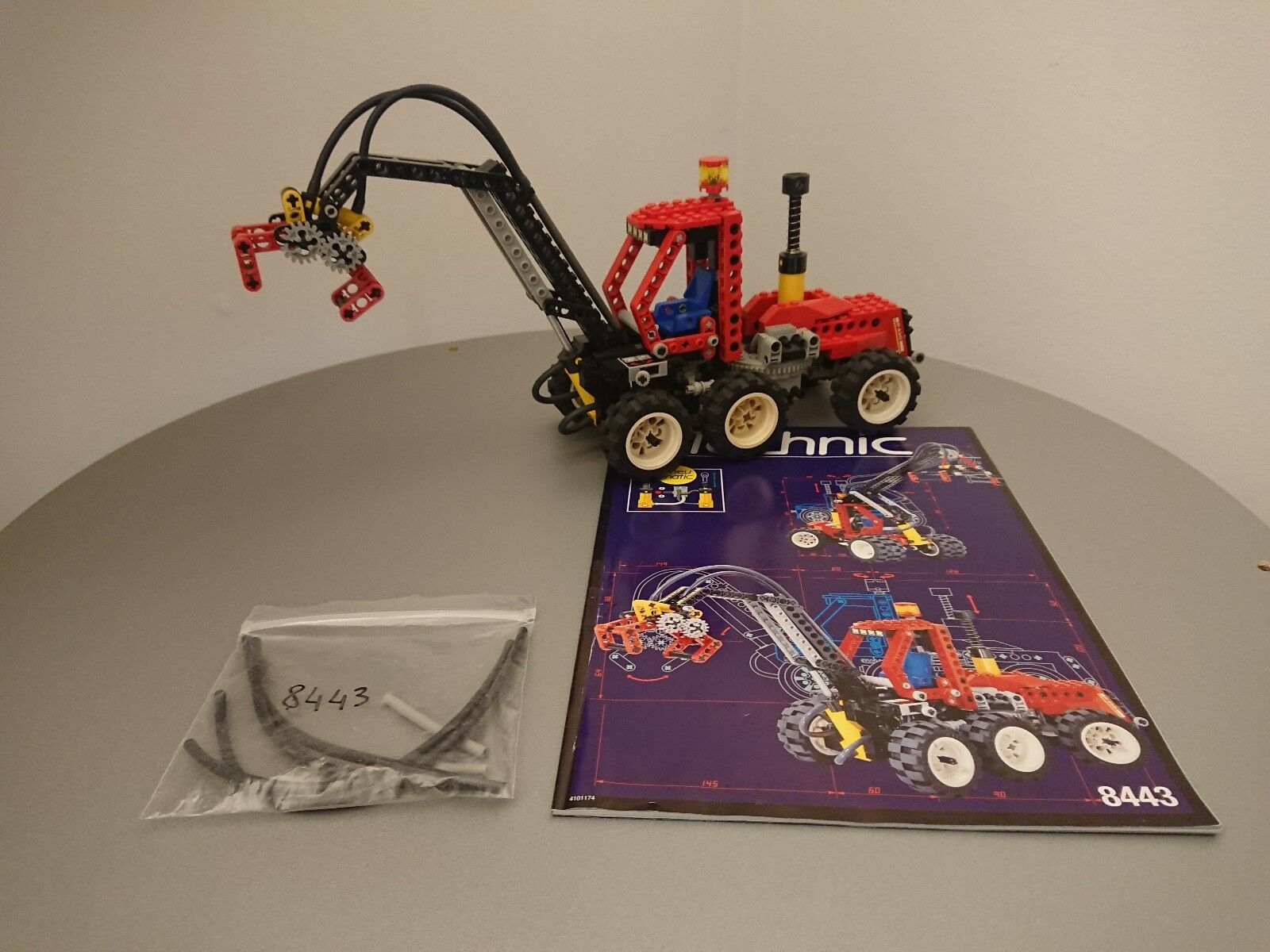 LEGO Technic 8443 voitureicatore Gru, Pneumatic Log Loader