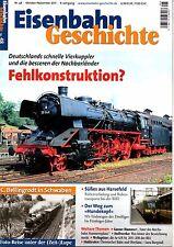 Eisenbahn Geschichte Heft Nr. 48 Vierkuppler Fehlkonstruktion ? Bellingrodt (D3)