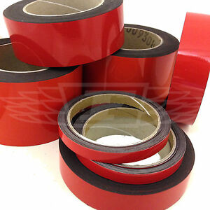 RED MAGNETIC WHITEBOARD GRID MARKING TAPE MAGNETIC TAPE VINYL GRIDDING
