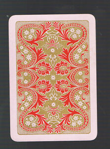 Antique Swap Playing Card WN 'Fortuna' US Congress 606 Gypsy Art Deco Ladies