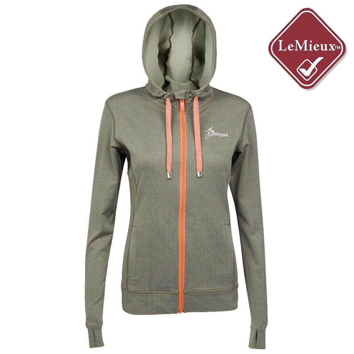 My LeMieux Activewear Hoodie - Khaki