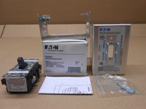 Manual Starters 1 NIB EATON CUTLER HAMMER B230BGD 2P NEMA 1 ENCL ...