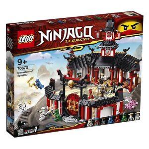 Lego 70670 - Monastère Ninjago de Spinjitzu