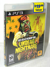 RED DEAD REDEMPTION: UNDEAD NIGHTMARE   (Sony Playstation 3, PS3)    ***NEW***