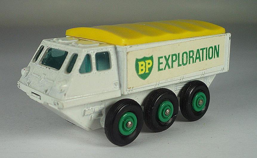 MATCHBOX REGULAR WHEELS Nº 61 B maintiendrait Stalwart exploration BP BPW LESNEY 2  563