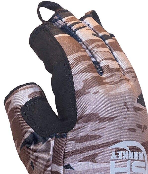 Fish Monkey FM26 Tundra II II Tundra Premium Insulated Half-Finger Fishing Gloves 08a0d5