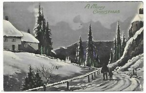 Freehold-to-Ray-Brook-New-York-1916-Christmas-Post-Card-GW-issue-Guide-Line
