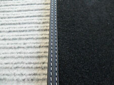 $$$ Fußmatten für Mercedes Benz R129 SL W129 SL AMG + SPORT+ Doppelziernaht +NEU