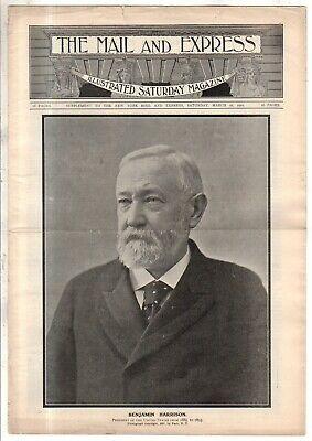 1901 Correo Y Express Marzo 16 Chino - Deaf Sordinas; Nome Ak ; Nyc Centerfold;