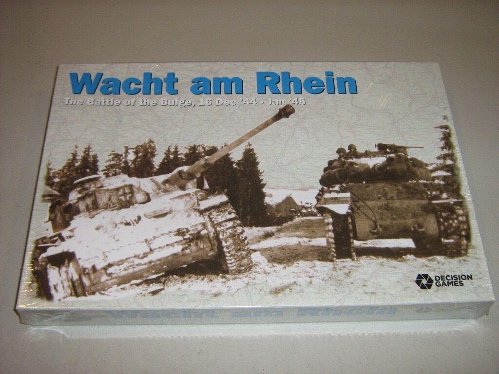 Wacht am Rhein  The Battle of the Bulge, 16 Dec'44 - Jan'45 (New)