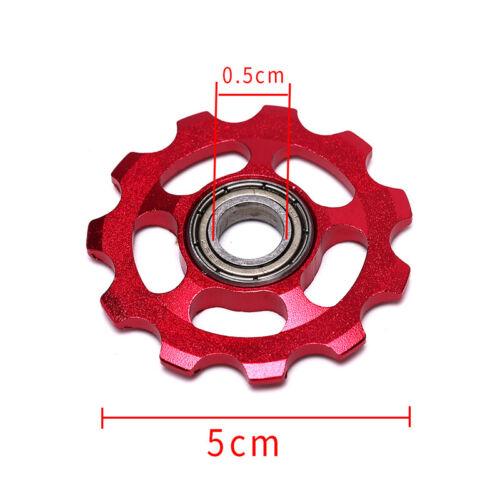2x 11T Aluminiumlegierung Fahrrad StützradSchaltwerk Riemenscheiben FahrradteBCD