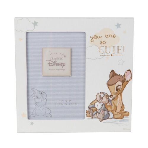 Disney Magical Beginnings Cadre Photo-Bambi neuf-idée cadeau