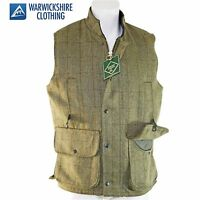 Tweed Gilet/waistcoat Quality Country Clothing Uk Made Long Leghth Sizes S-5xl