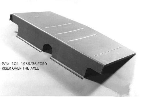 Ford All Body Styles Rear Axle Riser 1935-1936 EMS#104