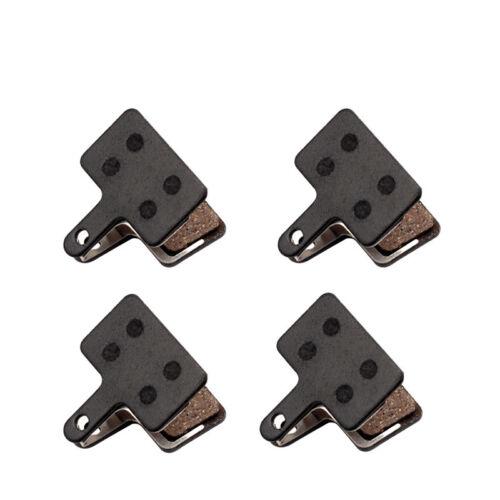 4 Pairs Bicycle Resin Disc Brake Pads For Shimano M355/M375/M395/M415/M416/M445