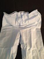 Fashion Seal Mens Trousers Hospital Pajama Pants Elastic Waist Blue Large