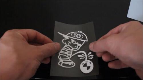 Berger Allemand Chien Sticker Autocollant Fenêtre Pare-chocs hayon Remorque Blanc