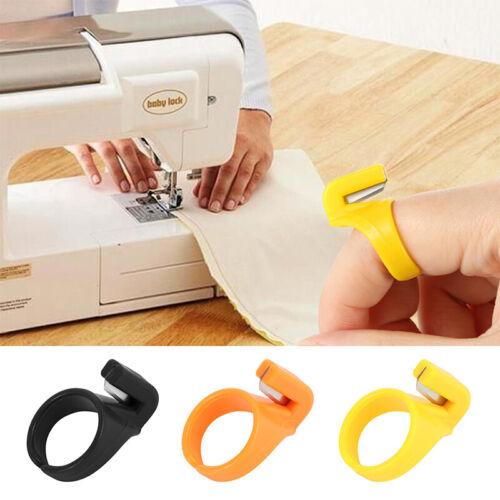 3pcs Finger Blade Needle Craft Thimble Sewing Ring Thread Cutter DIY Sew jiTEUS