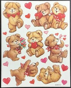 Mint Condition!! Vintage Stickers Valentine's Day American Greetings