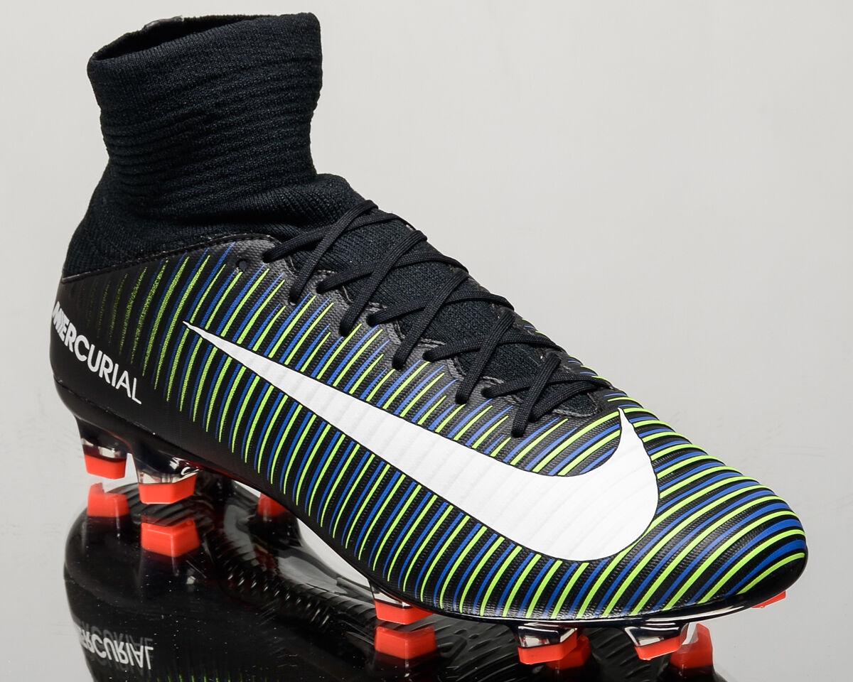 Nike Mercurial Veloce III DF FG 3 Hombres Botines De Fútbol Nuevo 831961-013