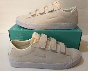 90264fc4892360 Nike SB Zoom Blazer Low AC QS Sail White Skateboarding Shoes 921739 ...