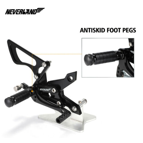 CNC Footrests Rear Set Foot Pegs Rearset For KAWASAKI Z750 07-13 Z1000 07-09