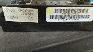 1998 2000 dodge caravan or voyager fuse relay junction box