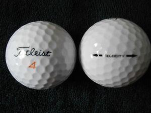 40-TITLEIST-034-VELOCITY-034-Golf-Balls-034-A-MINUS-B-PLUS-034-Grades