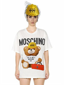 712d8bbd2 Moschino Couture Jeremy Scott Teddy Bear TOOL BOX This Is Not A Toy ...