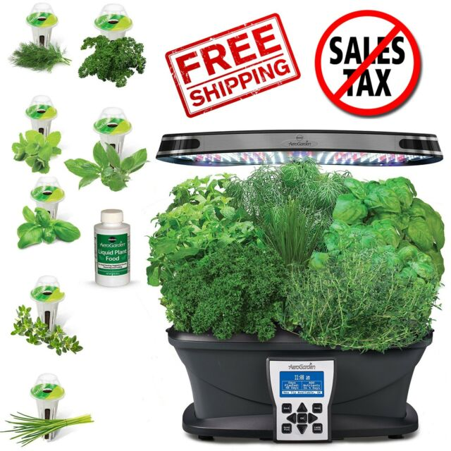 Salad Bar Gourmet and Tomato//Herb Seed Pot Kit AeroGarden 24 pod Can Use In Farm