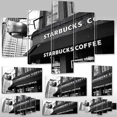 Leinwandbild Canvas Print Wandbild Kunstdruck Starbucks Coffee Kaffee Mith Huang