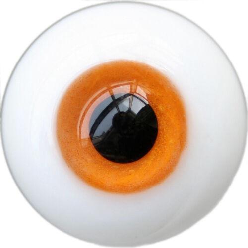 PF Y19# 14mm Orange For BJD DOD AOD Doll Dollfie Glass Eyes Outfit