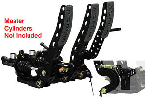 Floor Mount w//Throttle Pedal /& Link Wilwood 340-12411 Pedal Assembly