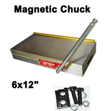"""6/""""x6/"""" Fine Pole Magnetic Chuck Machining Grinding Carbon Steel Line Cutting"""