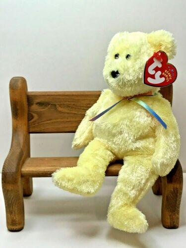 2001 Nov 26th TY Beanie Baby Sherbet Lemon The Bear With Tag Retired   DOB