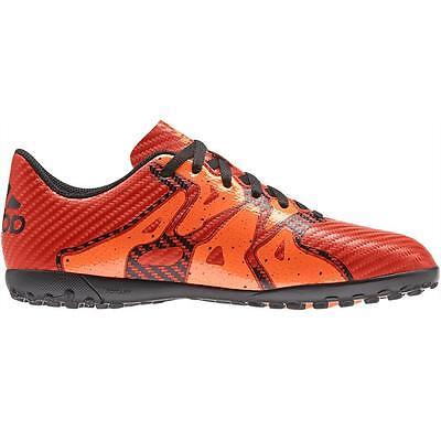 Adidas X 15.4 Junior Kids Astro Turf J TF Football Boots Trainers - Orange Black | eBay