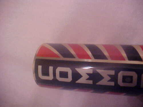 Evans Colson Commodore Bicycle Head badge name plate Emblem nos