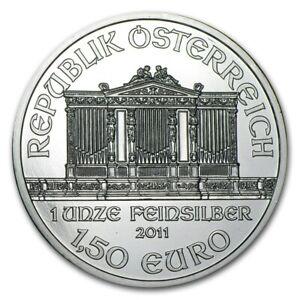 2011-Austrian-Philharmonic-1oz-999-Silver-Bullion-Coin-Austrian-Mint