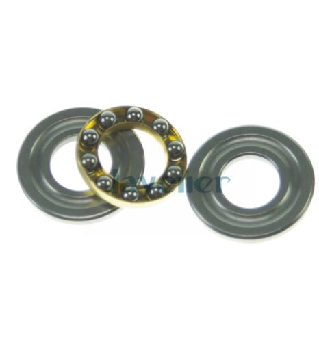 10 pieces 5mm ID x 4.5mm OD Thick F5-11M Axial Ball Thrust Bearing x 11mm