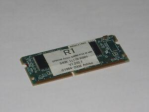 Dettagli su XEROX wc7435 PostScript Roma Adobe 540k11172 EPROM Assy-DIMM  ps3 W MN 960k31960- mostra il titolo originale