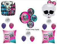 Monster High Orbz Skullette Happy Birthday Balloon Decorations Party Supplies
