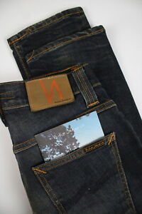 NUDIE-JEANS-GRIM-TIM-ORG-WORNIN-PEPPER-Men-W29-L32-Stretchy-Organic-Jeans-0543