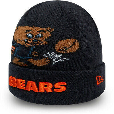 Chicago Bears New Era Infants Mascot NFL Cuff Knit Beanie (0 2 years) | eBay