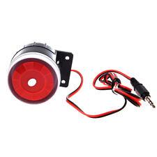 Wired Mini Siren for Home Security Alarm System Horn Siren 120dB 12V E2X2 E3J3